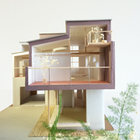 Bookend house